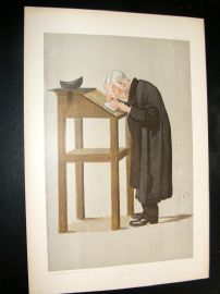 Vanity Fair Print 1898 William Archibald Spooner